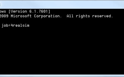 Abaqus submission from the command line