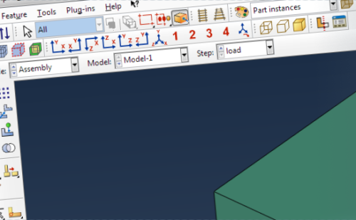 Abaqus restart from the GUI
