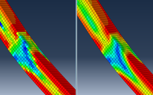 Abaqus results averaging