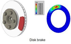 4realsim heat friction thermal analysis