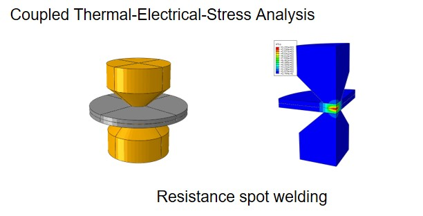 Fully coupled thermal-electrical-structural analysis