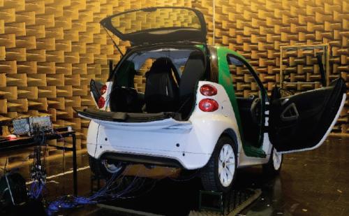 Optimización de la acustica en los coches eléctricos