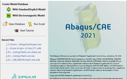 Abaqus 2021 release available