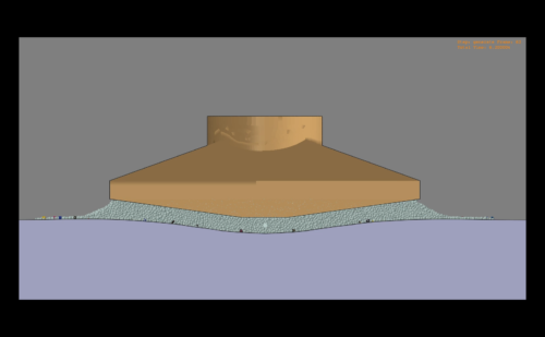 Método de elementos discretos (DEM) en Abaqus